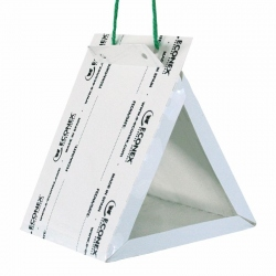ECONEX DISPOSABLE WHITE TRIANGULAR MINI