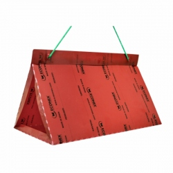 ECONEX DISPOSABLE RED TRIANGULAR