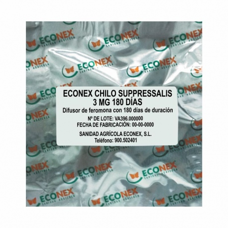 ECONEX CHILO SUPPRESSALIS 3 MG 180 DÍAS