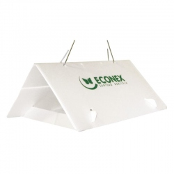 ECONEX WHITE TRIANGULAR without sheets