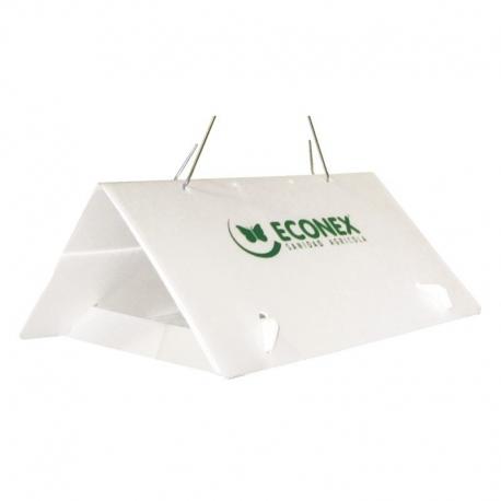 ECONEX WHITE TRIANGULAR without sheets